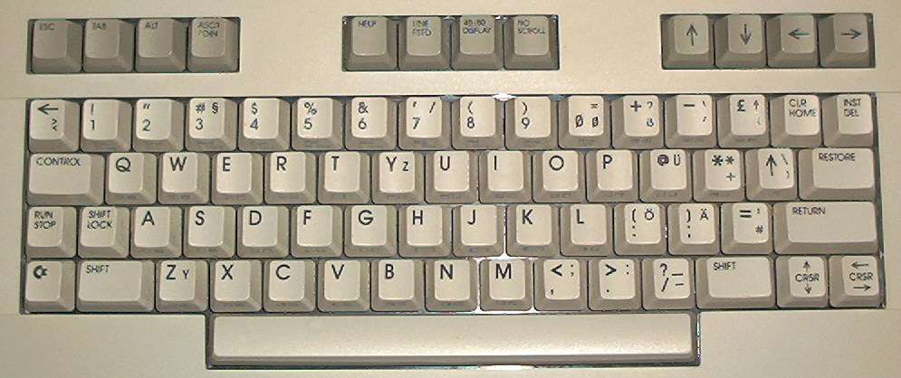 Nicolas' C128D Mystery Keyboards Page